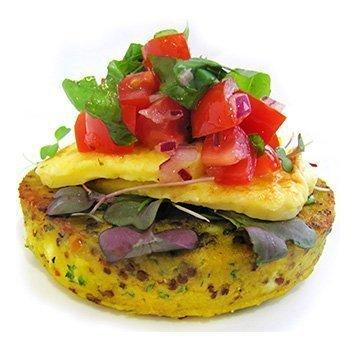 Wild Chef Gluten Free Feta & Quinoa vegetarian pattie