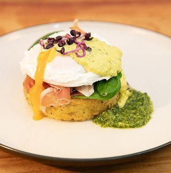 Gluten Free Eggs Benedict… with a Twist