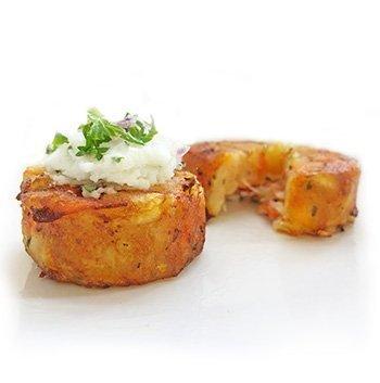 Gluten free vegan canape Wild Chef Mini Veggie Rosti