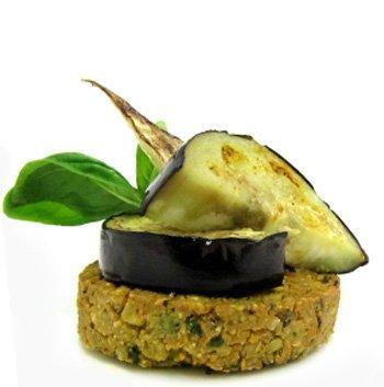 Vegan gluten free main using wild chef falafel patties