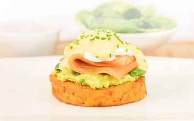 Kumara Rosti Eggs Montreal