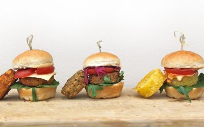 Vegetarian Vegan Sliders