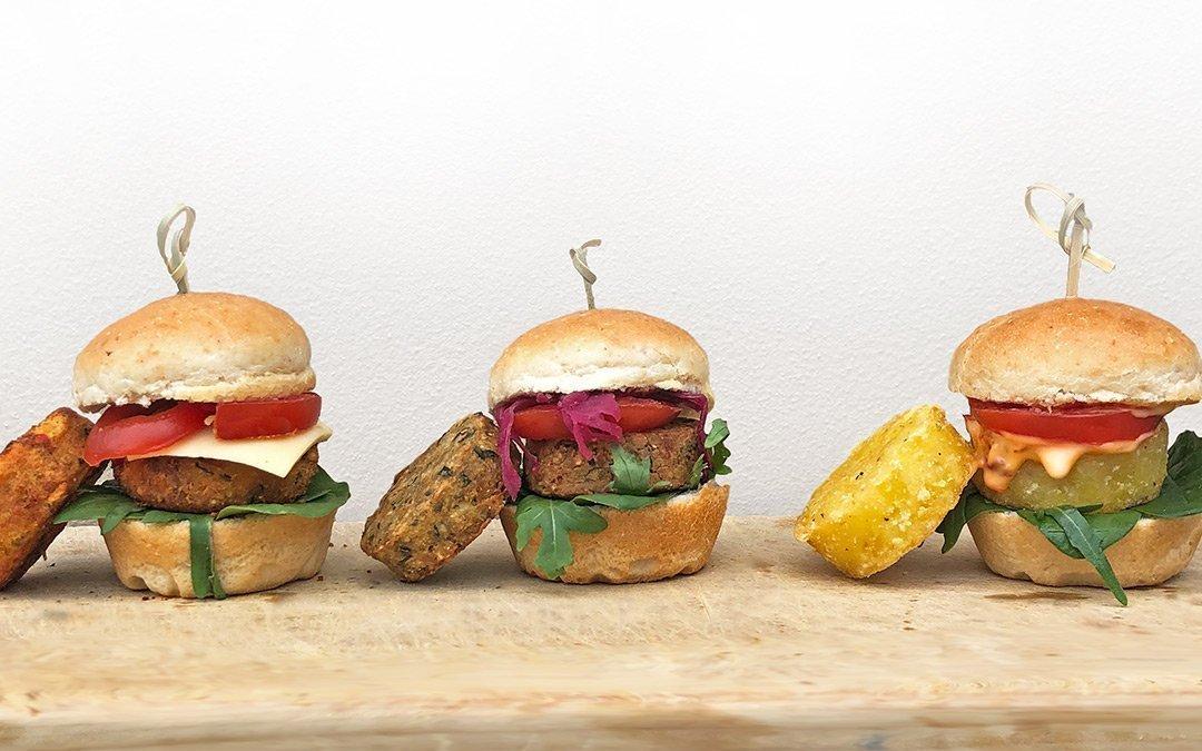 Vegetarian Vegan Sliders