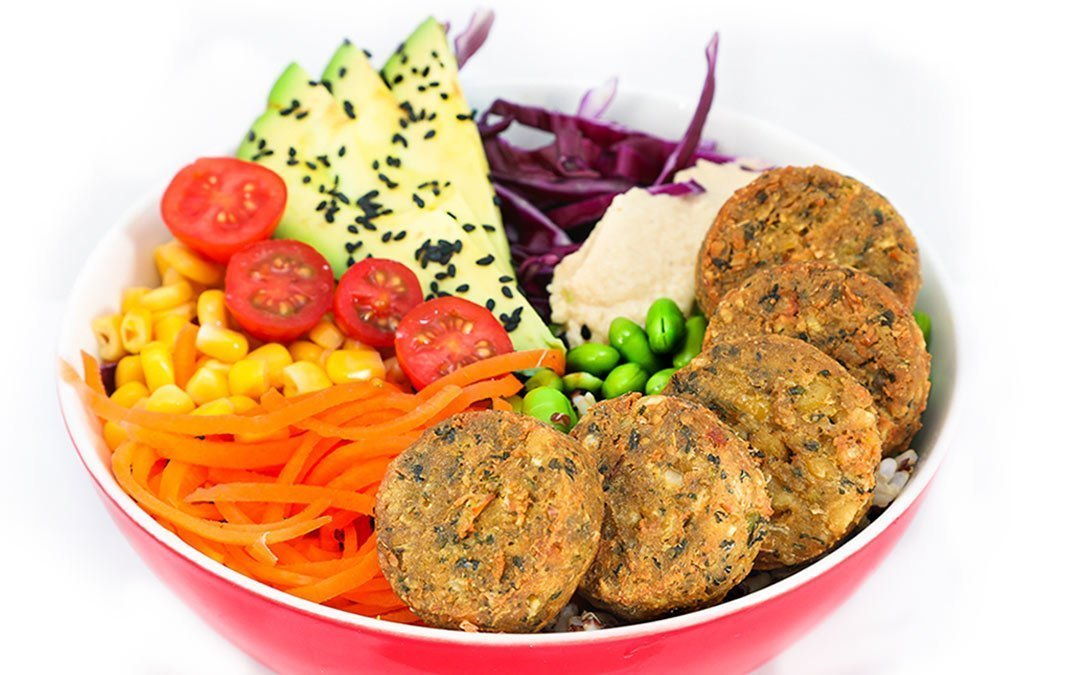 Vegan Falafel Salad Bowl